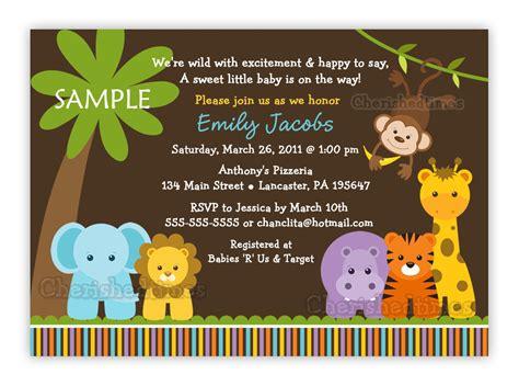 free printable zoo animal baby shower invitations jungle safari wild animals baby shower invitation you print