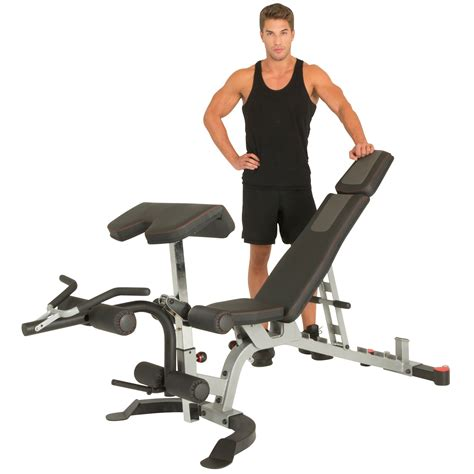 hamstring curl bench ironman x class weight bench with preacher curl and leg