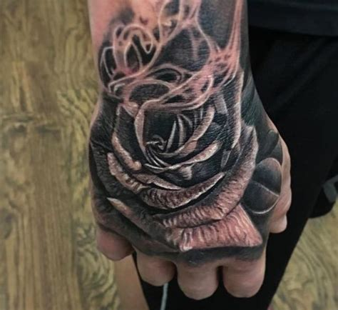dark rose tattoo studio floral by lovan tattoos