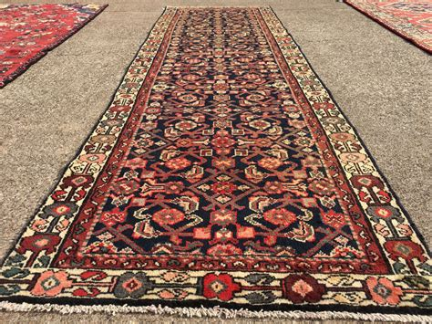 10 runner rugs 3x10 knotted iran rug runner woven wool antique 3 x 10 blue 4 9 2 ebay