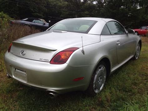 how do cars engines work 2004 lexus sc security system purchase used 2004 lexus sc 430 convertible rebuildable repairable no reserve in millbury