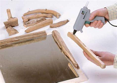 cornice in legno fai da te cornice di legno fai da te con rami bricoportale fai da