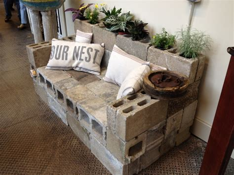 cinder block couch the cinder block sofa
