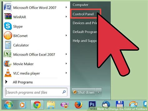 change color of 5 ways to change the color of toolbars wikihow