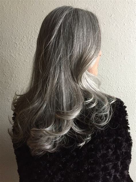 1000 ideas about gray highlights on pinterest hair foiled salt and pepper hair 1000 ideas about silver
