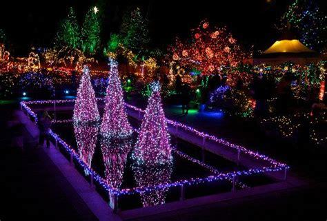best spots in yakima for christmas lights experience vandusen botanical garden s festival of lights free ticket giveaway inside