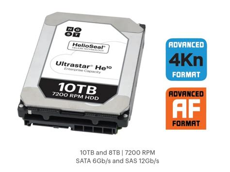 Hardisk Hgst Ultrastar 3 5 Inch 10 Tb 7200 Rpm He10 hgst launches the new 10tb helium filled ultrastar he10 hdd