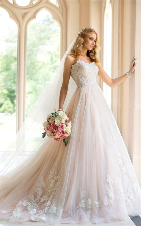 and extravagant stella york wedding dresses 2014