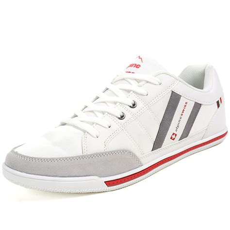 fashion sneakers alpine swiss stefan mens retro fashion sneakers tennis