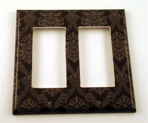 Decorative Switch Plates by Rocker Switch Plate Wall Decor Decorative Switchplate In