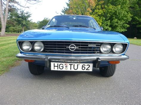 1973 opel manta for sale 1973 opel manta blue max german cars for sale