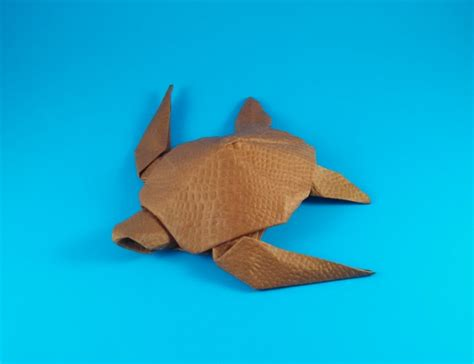 Origami Turtle Diagram - yoshizawa origami exhibition catalog by