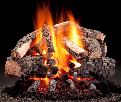 Fireplace Gas Logs by Vented Gas Logs Wills