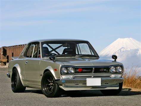 kpgc10 first generation nissan skyline gt r awesome