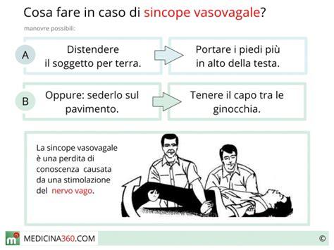 sincope vaso vagale sincope vasovagale cause sintomi e terapia dello