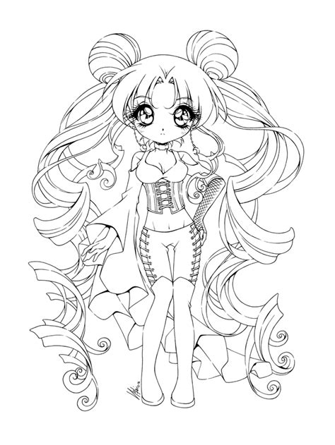 pictures girl coloring schoolgirl 8 images of gothic anime coloring pages goth anime girls