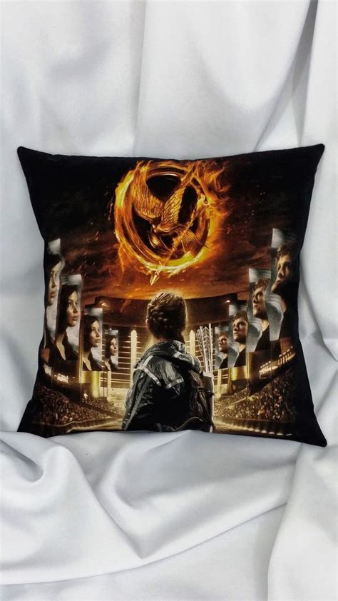 Pillow Blouse Bd T1310 the hunger on black t shirt made into a pillow cover heroine bedding the