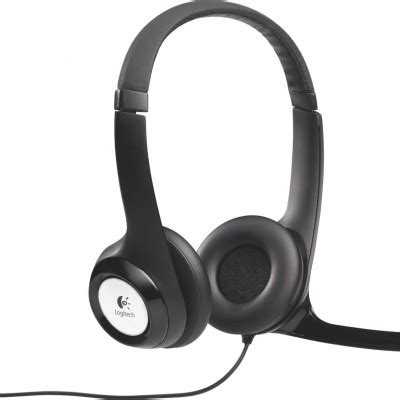 Headset Gaming Logitech H390 Clearchat logitech h390 headset for pc gaming by logitech