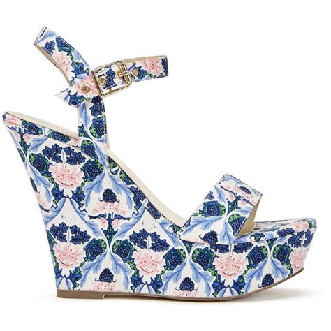 Wedges Floral 1000 ideas about floral wedges on shoes