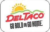 Del Taco Gift Cards - buy del taco gift cards at a 12 discount giftcardplace