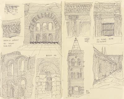 sketchbook rome niall bird architectural thesis rome sketchbook