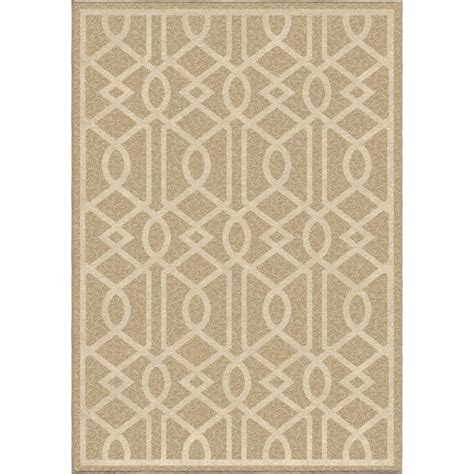 Hton Bay Outdoor Rugs Hton Bay Agave Brown Beige 7 Ft 8 In X 10 Ft Indoor Outdoor Area Rug Rgio055727 The Home