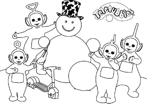 Teletubbies Coloring Pages by Coloring Page Teletubbies Coloring Pages 15