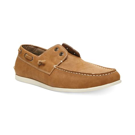 maden shoes steve madden madden on boat shoes in brown for