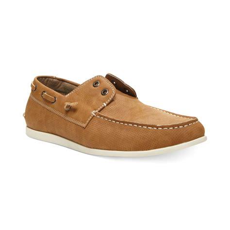 steve madden shoes for steve madden madden on boat shoes in brown for