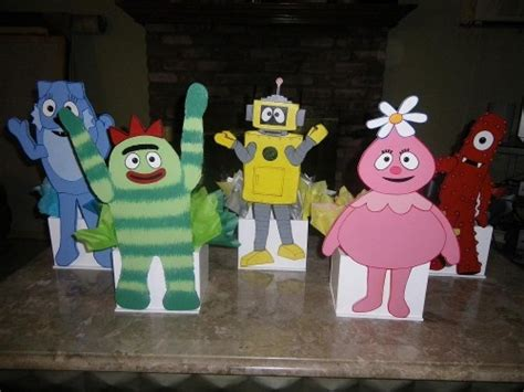 yo gabba gabba centerpieces 1000 images about jace s 1st birthday ideas on