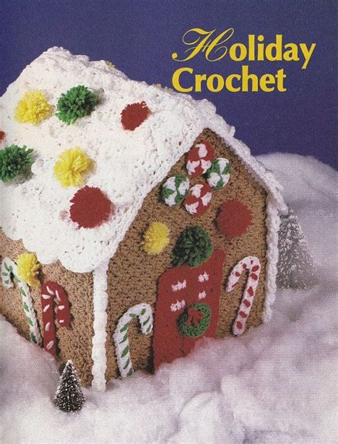 pattern gingerbread house gingerbread house crochet pattern santa wallhanging
