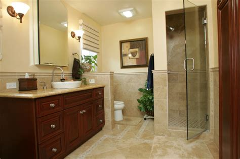 custom bathroom design tarzana mediterranean master bathroom remodel