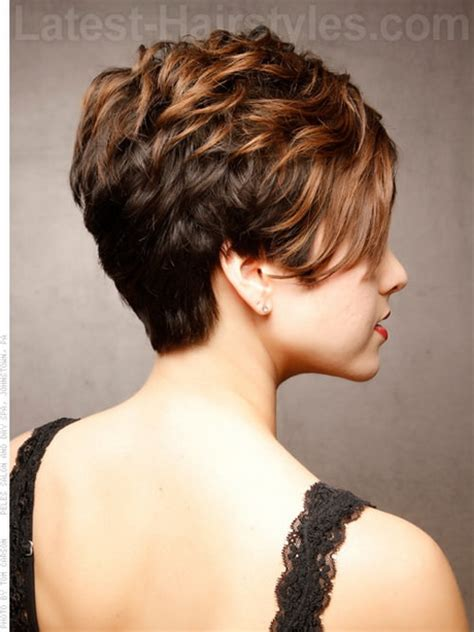 stacked short hair cuts front and back view short haircuts front and back view