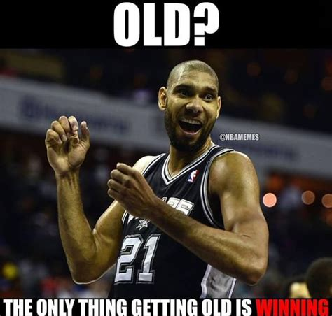 Spurs Memes - tim duncan the ultimate winner spurs http