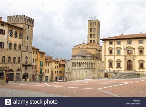 arezzo tuscany stock photos arezzo tuscany stock images arezzo tuscany italy piazza grande stock photos arezzo