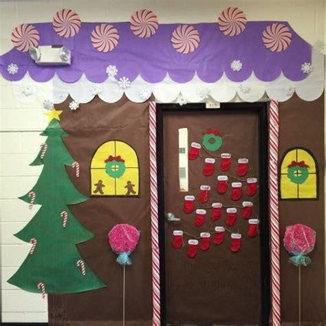 ideas  decorar puertas escolares en navidad dale