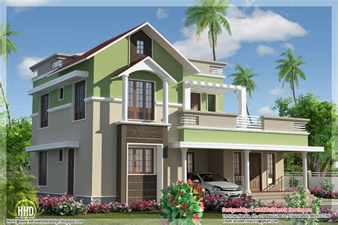 1785 Sq Feet Contemporary Mix 4 Bhk House Home Appliance House Plans Kerala Kollam
