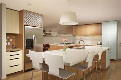 kitchen islands that seat 4 how to choose seating for your kitchen island freshome
