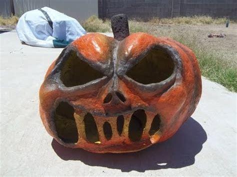 How To Make A Paper Mache Pumpkin - how to make paper mache pumpkins