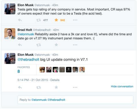 elon musk on twitter elon musk tweetstorm consumer reports rebuttal 7 1