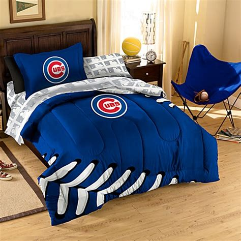 chicago cubs bedding buy mlb chicago cubs complete twin bed ensemble from bed