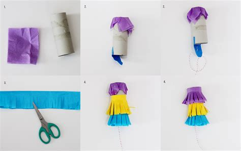 How To Make A Pinata With Tissue Paper - diy mini pi 241 atas mirabelle creations