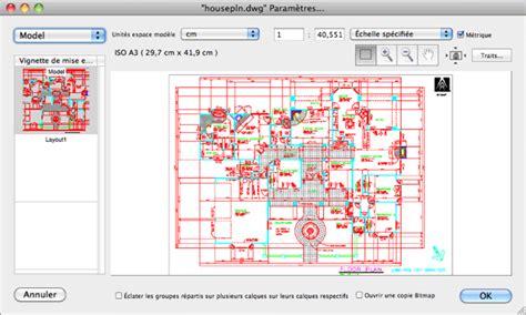 format dwg lire ouvrir fichier dxf sous mac