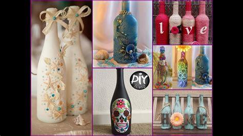 Diy Glass Bottle Decor by 70 Wine Bottles Decor Ideas Diy Room Decor Using Recycled