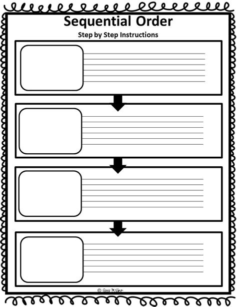 free sequencing events worksheets for grade 2 sequencing