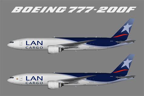 lan airlines cargo boeing 777 200f juergen s paint hangar