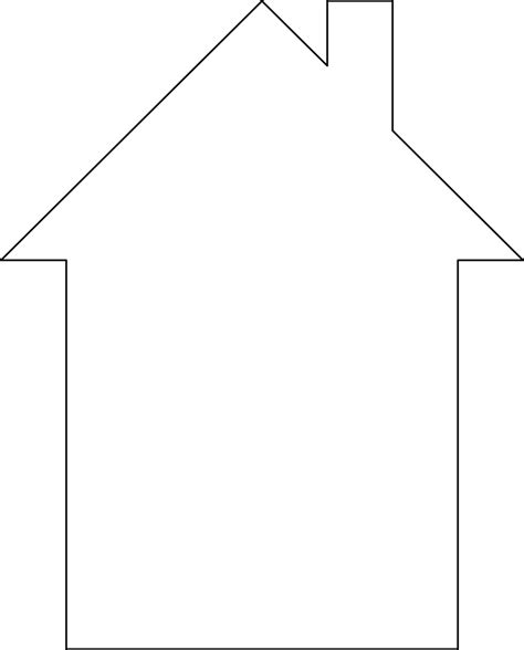 house free stock photo illustration of a house outline
