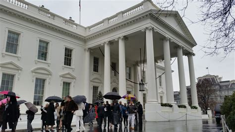 Visiting The White House by Thoughts On Visiting The White House Of America