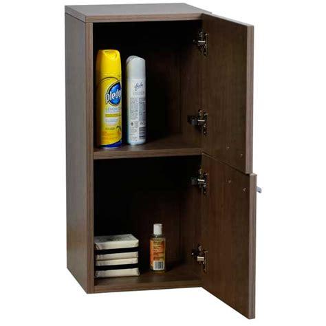12 inch cabinet linen side cabinet in brown 12 inch tn t690 sc bn on