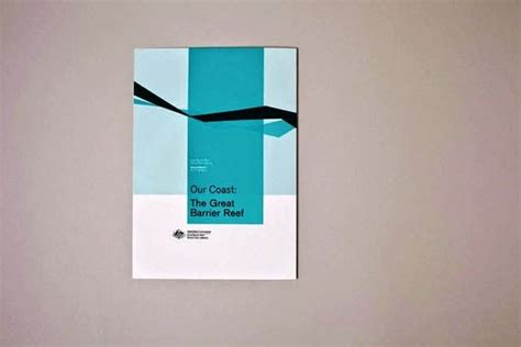 contoh desain gambar buku laporan tahunan great barrier reef marine park authority report oleh